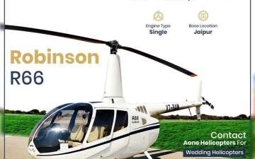 Book Helicopter in India | Rent Helicopters