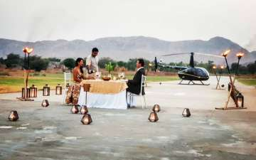 Top Ring Ceremony in Helicopter Choices