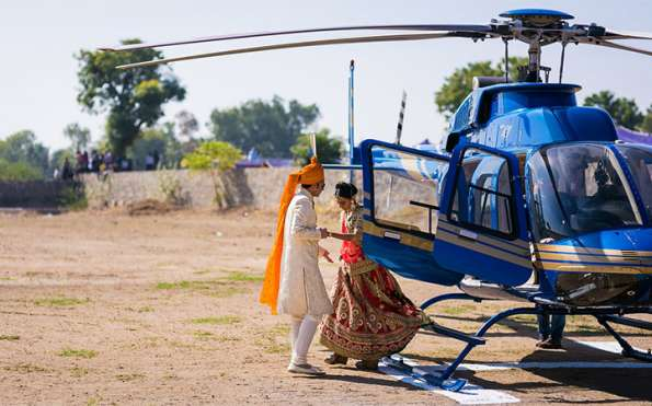 Wedding Helicopters