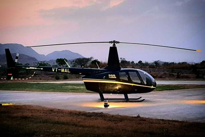 Helicopter in Rajasthan - the Conspiracy